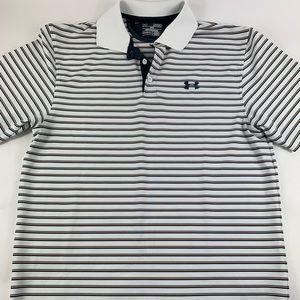 Under Armour Short Sleeve Heat Gear Polo Shirt M